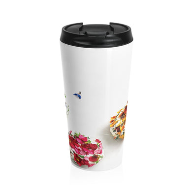 Culinary Florist Stainless Steel Travel Mug