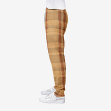 Load image into Gallery viewer, Turkish Plaid Print All-Over Print men's joggers sweatpants