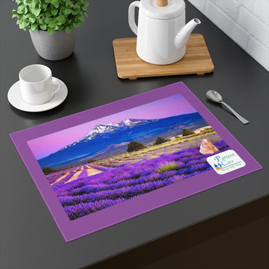 Patient Care Lavender Placemat