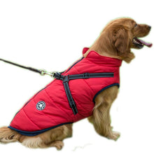 Load image into Gallery viewer, Waterproof Cloth Big Dog Coat Winter 5 Color Sleeveless Harnesses Vest Jacket