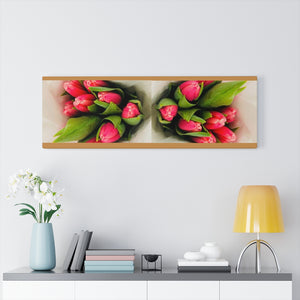 Cherry Tulips Canvas Gallery Wraps