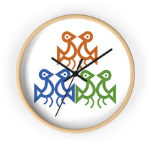 Load image into Gallery viewer, Taino Birdies Wall clock