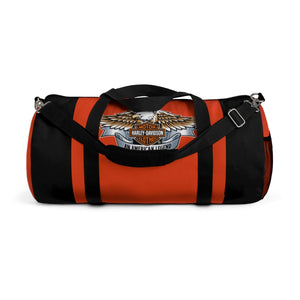 Endorsement for Harley Davidson Duffel Bag