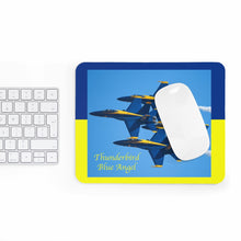 Load image into Gallery viewer, Thunderbird Blue Angel Mousepad