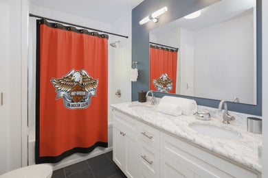 Endorsement Harley Shower Curtains
