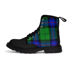 Tartan Men's Canvas Boots