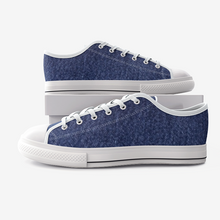 Load image into Gallery viewer, Hudson Yards Kids Denim  Low Top Canvas Shoes