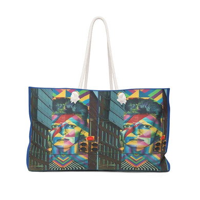 Hoboken Tribute to Bowie Weekender Bag