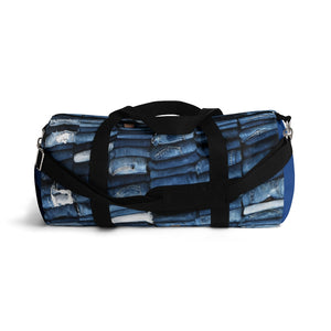 Puerto Padre Denim Duffel Bag