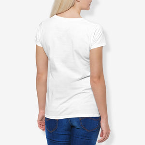 Alicia Women's Cotton Stretch CrewNeck T-Shirt