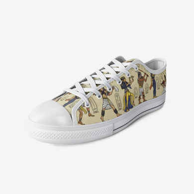 Egyptian Novelty Urban  Low Top Canvas Shoes