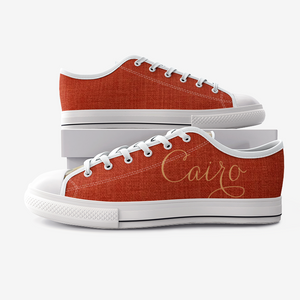Retro Cairo Urban Low Top Canvas Shoes