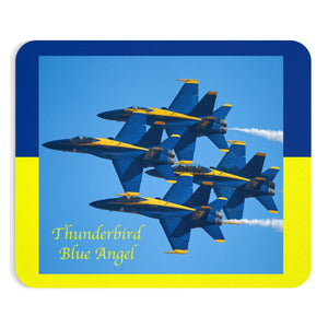 Thunderbird Blue Angel Mousepad