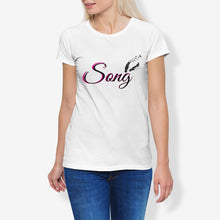 Load image into Gallery viewer, Song Women's Cotton Stretch CrewNeck T-Shirt