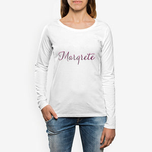 Margrete Women's Crew Neck Long sleeve T-shirt