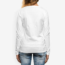 Load image into Gallery viewer, Margrete Women's Crew Neck Long sleeve T-shirt