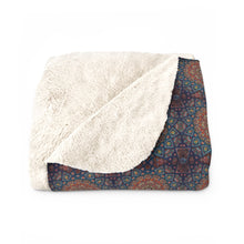 Load image into Gallery viewer, Cairo Sherpa Fleece Blanket
