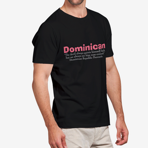 Dominican Republic ProverbsMen's Heavy Cotton Adult T-Shirt
