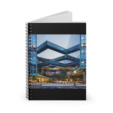 Load image into Gallery viewer, Architect Design Spiral Notebook - Ruled Line