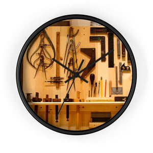Craftsmanship Tool Wall clock