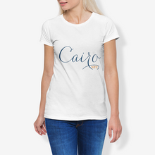 Load image into Gallery viewer, Cairo NYC Women's Cotton Stretch CrewNeck T-Shirt