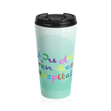 St. Jude Stainless Steel Travel Mug