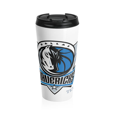 Mavericks Stainless Steel Travel Mug