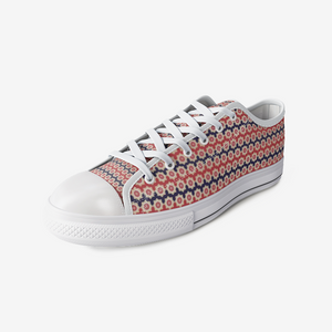 Turkish Textile Low Top Canvas Shoes