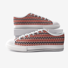 Load image into Gallery viewer, Turkish Textile Low Top Canvas Shoes