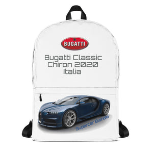 Bugatti Italy Travel Backpack