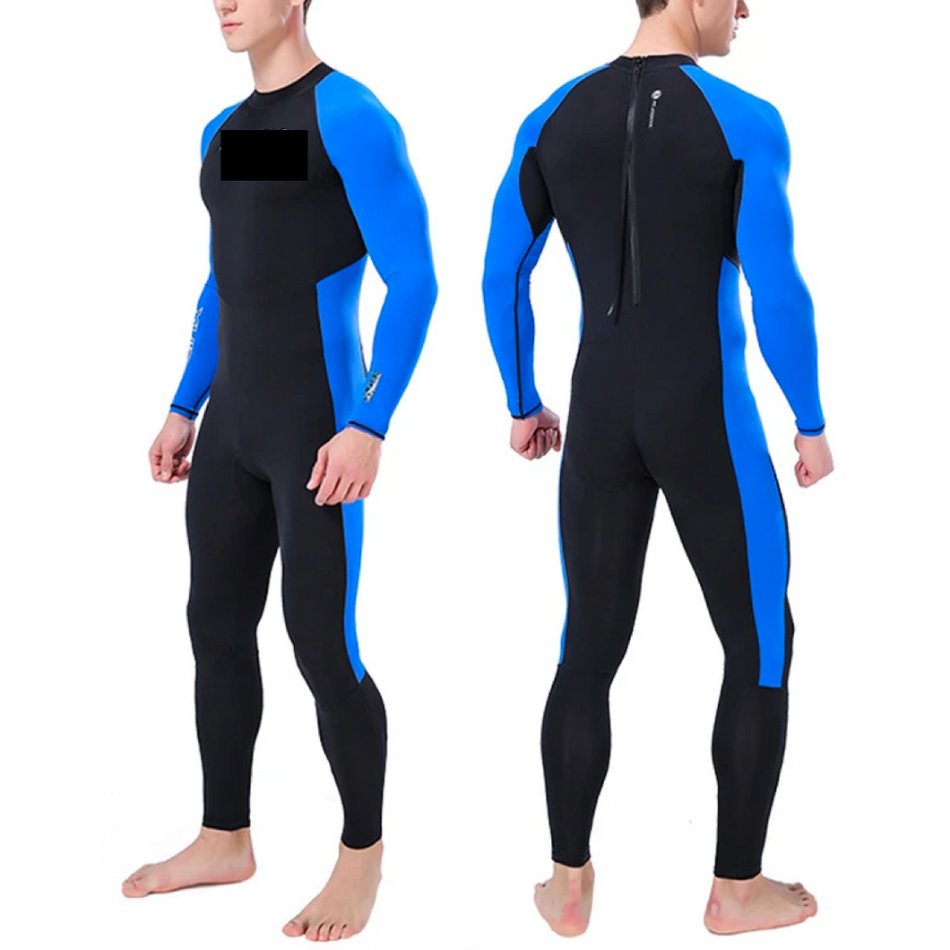Neon Teen Wetsuit Bodysuit Super Stretch Thick Anti-UV Diving Suit Swimwear Long Sleeve Sun Protection