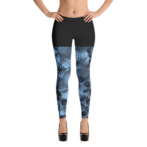 GEO Halloween all over printed spandex