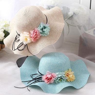 New Fashion Parent-Child Straw Sun Hat