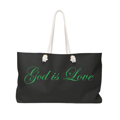God Is Love Weekender Bag
