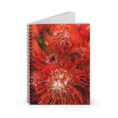 Protea Spiral Notebook - Ruled Line