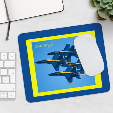 Blue Angel Thunderbird Mousepad