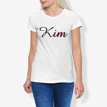 Load image into Gallery viewer, Kim Women's Cotton Stretch CrewNeck T-Shirt