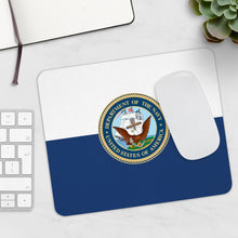 Load image into Gallery viewer, US Navy Classic Laptop Mousepad