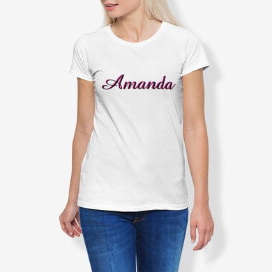 Amanda Women's Cotton Stretch CrewNeck T-Shirt