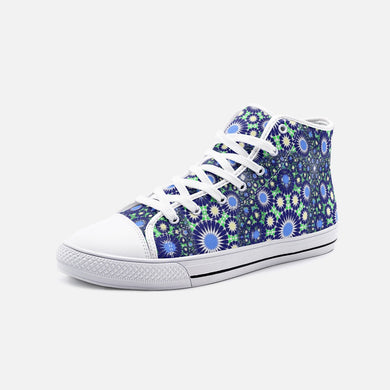 Hipsters Unisex High Top Canvas Shoes