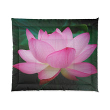 Load image into Gallery viewer, Lotus Mediation Comforter