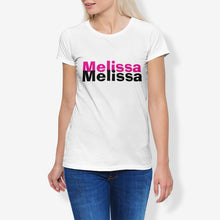 Load image into Gallery viewer, Melissa Women's Cotton Stretch CrewNeck T-Shirt