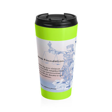 In memory of Malik Stainless Steel Travel Mug
