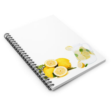 Old Fashion Lemonade Spiral Notebook - Ruled Line