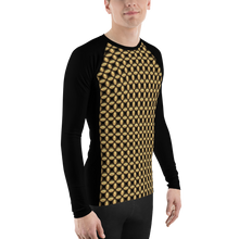 Load image into Gallery viewer, Jersey Shore Golden Global Men's Rash Guard