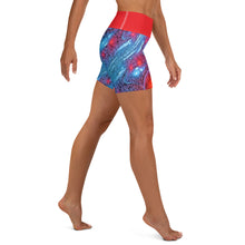 Load image into Gallery viewer, All Over Printed Activewear Yoga Shorts