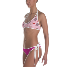 Load image into Gallery viewer, BIK 28 over printed active swimwear bikini