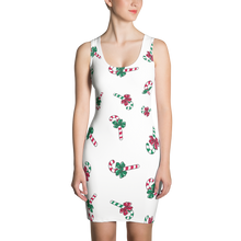 Load image into Gallery viewer, GEO 33 Christmas Symmetrical Dress