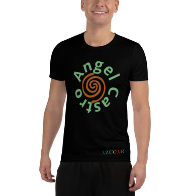 Castro Chicos Taino All-Over Print Men's Athletic T-shirt