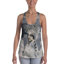 Load image into Gallery viewer, Grey Swan Princess All over Printed Tank top 100% polyester (can contain up to 4% elastane) • Comfortable, stretchy material that stretches and recovers on the cross and lengthwise grains.